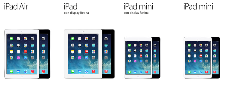 iPad con display Retina sostituisce iPad 2