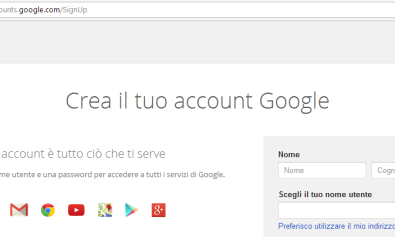 Google Crea Account Mini